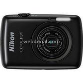 "Nikon Coolpix S01 10mp 2.5"" Dokunmatik Lcd 3x Optik Hd Dijital Kompakt  Siyah"