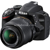 "Nikon Camera-d3200-vr 24mp 3"" Lcd Ekran Fullhd Video Kayıt Aps-c Expeed3 & 18-55mm Vr"
