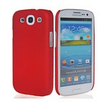 Microsonic Rubber Kilif Samsunng Galaxy S3 I9300 Kirmizi