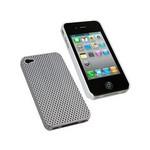 Microsonic Anti-sweet Rubber Kilif Beyaz- Iphone 4