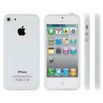 Microsonic Iphone 5 & 5s Bumpers Çerçeve Kilif Beyaz