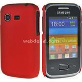 Microsonic Rubber Kilif Samsung Galaxy Pocket S5300 Kirmizi