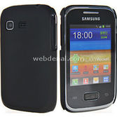 Microsonic Rubber Kilif Samsung Galaxy Pocket S5300 Siyah