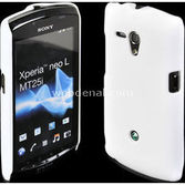 Microsonic Rubber Kilif Sony Xperia Neo L Mt25i Beyaz