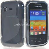 Microsonic S-line Soft Kilif - Samsung Galaxy Pocket S5300
