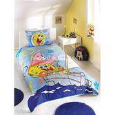 Taç Tekstil Taç Sponge Bob Boat Yatak Örtüsü Seti