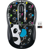 Logitech 910-003008 M325,kablosuz Optik Notebook Mouse,panda Candy