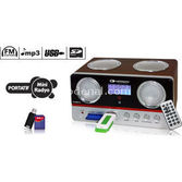 Kamosonic Kamosonic Ks-mr115 Usd-sd Kart-mp3-alarm-şarjli Mini Radio