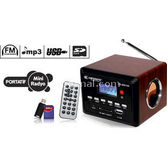 Kamosonic Ks-mr108 Usd-sd Kart-mp3-şarjli Mini Radio