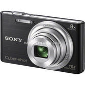 "Sony Dsc-w730 16.1 Mp 8x Optik 2.7"" Lcd Hd Dijital Kompakt Siyah"