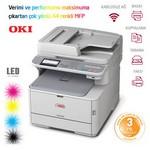 OKI Mc342dnw, Renkli Laser Yazici Tarayici Fotokopi Faks (44952143)