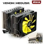 Akasa Ak-cc4010hp01 Venom Medusa,lga 775/1155/1156/1366/2011 Ve Amd/am2/am3/fm1 Cpu S