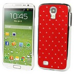 Microsonic Bling Luxury Case Kilif Samsung Galaxy S4 Iv I9500 Kirmizi