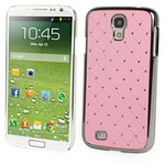 Microsonic Bling Luxury Case Kilif Samsung Galaxy S4 Iv I9500 Pembe