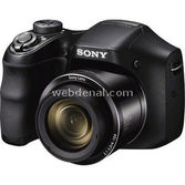 "Sony Dsc-h200 20.1mp 26x Optik 3.0"" Lcd Hd Dijital Kompakt Siyah"