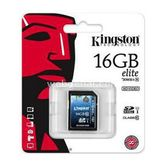 Kingston 16gb Sdhc Class10 Sd Kart (sd10g3/16gb)