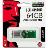 Kingston 64gb Hi Speed Dt101g2 Usb Yeşil