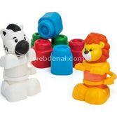 Clementoni Clemmy Soft Hayvanlar Oyun Seti 8005125148868