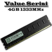G.skill F3-1333c9s-4gns Value Ddr3-1333mhz Cl9 4gb Dimm (512x8)