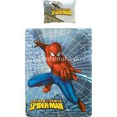 Taç Tekstil Taç Spider-sense Dörtlü Çift Desenli Lisansli Nevresim Takimi (peluş Yastik He