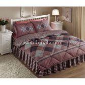 Taç Tekstil Taç Mateo Uyku Seti Çift Kişilik - Pembe