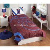 Taç Tekstil Taç Trabzonspor Karadeniz Fırtınası Lisanslı Yatak Örtüsü Seti