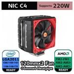 Thermaltake Cl-p0607 Nic C4 2011/366/1156/1155/775 Ve Am3/am2/am2 Uyumlu Cpu Soğutucu