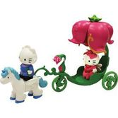 Necotoys Hello Kitty Atı Ve Lale Arabası 018876650298