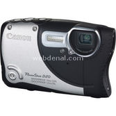 "Canon Powershot D20 12.1 Mp 5x 3.0"" Lcd Full Hd Gps Dijital Kompakt Gümüş"