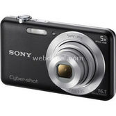 "Sony Dsc-w710 16.1 Mp 5x Optik 2.7"" Lcd Hd Dijital Kompakt Siyah"
