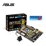 Asus Z87-deluxe/dual Ddr3 1600mhz S+gl+16x 1150p