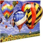 Mega Puzzles 200 Parça 3d Puzzle Breakthrough Balonlar 072348506698
