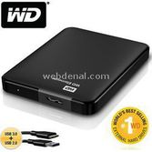 "Western Digital Wd Elements Portable 2.5"" 500gb Usb 3.0 Black"