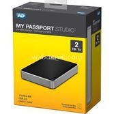 Western Digital 2tb Wd 2.5 Usb2.0+fw800 Wdbu4m0020bbk My Passport Studio