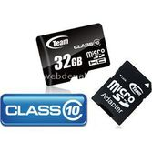 Team Class10, 32 Gb., Micro Sdhc Hafiza Karti (sd Dönüştürücülü) - Tmmsd32gc10