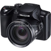 "Samsung Wb2100 16mp 35x Optik  3.0"" Lcd Ekran Full Hd Dijital Kompakt Siyah"