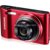 "Samsung Wb30f-red 16mp 10x Opt.zoom 3"" Lcd Ekran Hd Video Kayıt Wifi Li-ion Kırmızı"