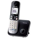 """Panasonic Kx-tg-6811 1,8"""" Işıklı Ekran, 120 Kişi Rehber,10 Adet Son Arama Hafızası Siy"""