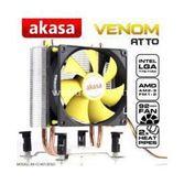 Akasa Ak-cc4012es01 Venom Atto Intel Lga775/115x Ve Amd Am2/am3+/fm1/fm2 Cpu Soğ.