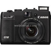 "Canon Powershot G16 F/1.8-2.8mm Is 12.1mp 5x Optik 3.0"" Lcd Full Hd Wi-fi Dijital Kom"
