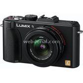"Panasonic Dmc-lx5 10.1 Mp 24 Mm Geniş Açı 3.0"" Lcd Dijital Kompakt Siyah"
