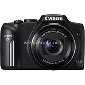 "Canon Powershot Sx170 Is 16 Mp 16x Optik 3.0"" Lcd Dijital Kompakt Siyah"