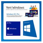 Microsoft Windows 8.1 Pro, Türkçe, 64 Bit, Oem Dvd, Fqc-06995
