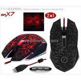 Frisby Fm-g3260k Optik Usb Oyun Mouse + Mouse Pad