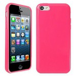Microsonic Glossy Soft Kılıf Iphone 5c Pembe