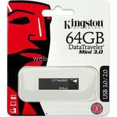Kingston 64gb Dt Mini Usb 3.0 Dtm30/64gb