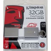 Kingston 32gb Usb Bellek Usb3.0 Dtu30g3/32gb