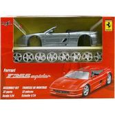 Maisto Ferrari F355 Spider 1:24 Maket Kit Gri