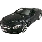 Maisto 2012 Mercedes-benz Sl 500 Convertible Diecast Model Araba 1:18 Special Edition Siya