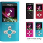 Goldmaster 224 4gb Mp4 Player 1.8 - Pembe